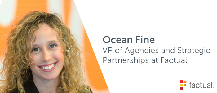 Ocean Fine, VP of Agencies and Strategic Partnerships at Factual discusses cross-device targeting with Adelphic DSP