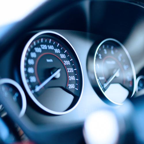 Car speed gauge