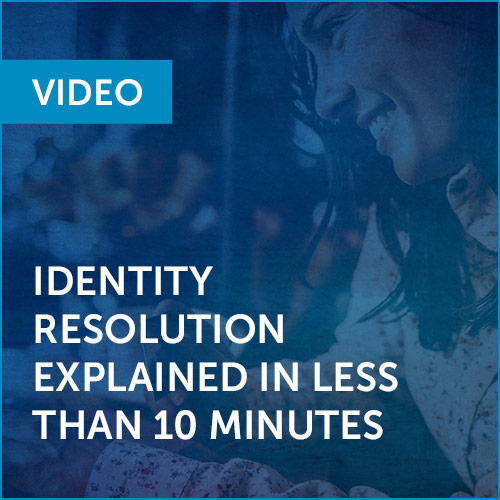 VIDEO: Identity Resolution Explained in Less than 10 Minuutes