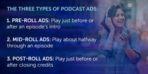 podcast ad types